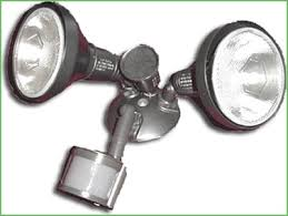 Security Flood Lights Outdoor by Lighting Guardcam Led Combined Cctv Camera And Security Flood