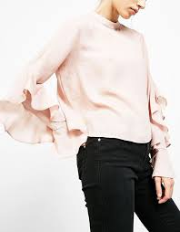 Blush Colored Blouse Best 25 High Neck Blouse Ideas Only On Pinterest Tie Blouse