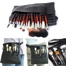 makeup artist belt 22 pockets professional makeup brushes apron bag artist belt