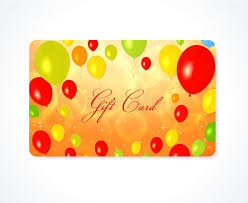 gift card discount gift card discount card business card balloon stock images