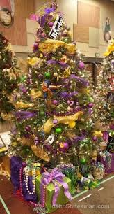 mardi gras tree decorations mardi gras tree decorated by the curtis homes team for the mid