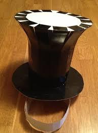 como hacer un sombrero de carton tutorial de gorro de sombrerero loco con tus manitas