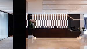 Global Reception Desk Global Trading House Nulty Lighting Design Consultants