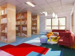 kitch colorful library in kitch styled u2014 stock photo kuprin33