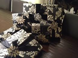 black christmas wrapping paper froo froo black christmas giftss gift wrapping