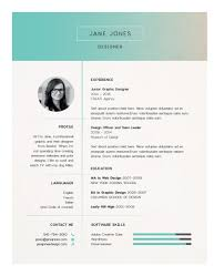Best Resume Fonts Creative by How To Create A Resume