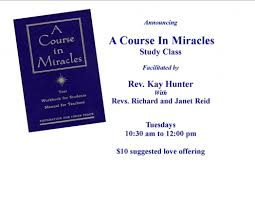 a course in miracles study class cathedral of light