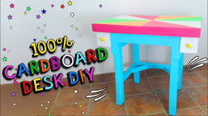play desk for how to convert a cardboard box into a furniture make a table desk