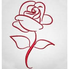 25 trending rose drawing simple ideas on pinterest easy rose