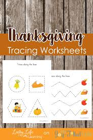 thanksgiving tracing worksheets my filled