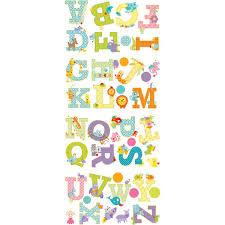 cool kids dena animal alphabet wall decals wallpaper u0026 border