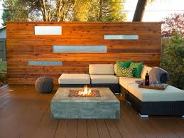 Backyard Feature Wall Ideas Stylish Deck Features Outdoor Design Landscaping Ideas Porches