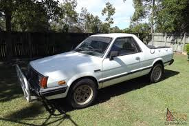 subaru brat custom brumby ute 4x4 5 speed manual 1 8l carb 1985 in qld