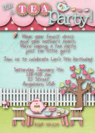 Kitchen Tea Theme Ideas Free Printable Tea Party Birthday Invite Tea Party Birthday Tea