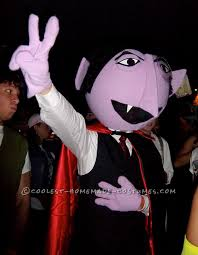 Grover Halloween Costume Coolest Homemade Count Von Count Costume Count Costumes