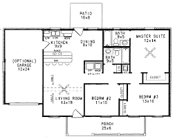country style house plan 3 beds 2 00 baths 1120 sq ft plan 14 151
