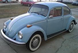 example of diamond blue paint on a 1970 volkswagen beetle vw bug