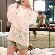 oversized shoulder sweater 47 sweaters sold oversized white knit shoulder sweater