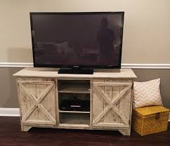 reclaimed wood media console entertainment center tv