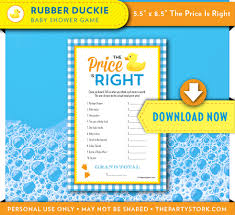 rubber duck baby shower games rubber ducky baby shower game