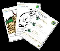 soil net com activity sheets