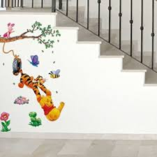 Nursery Decor Wall Stickers Wall Decals For Rooms Boys Skateboard Winnie The Pooh Wall