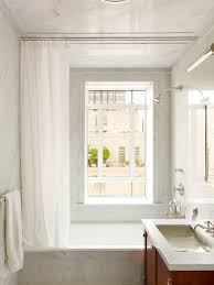 shower curtain instead of shower door houzz
