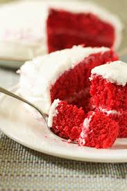 moist fluffy and sinfully delicious red velvet cake gluten free