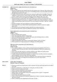 maintenance technician resume preventative maintenance technician resume sles velvet