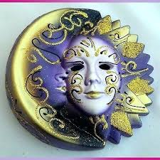 ceramic mardi gras masks for sale mardi gras wall decorations maidens of butterfly maiden mask wall