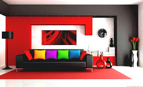 paint modern colors for living room color scheme modern color scheme the living room design with red white and black walls