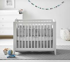 Mini Crib White Emerson Mini Crib Mattress Set Pottery Barn