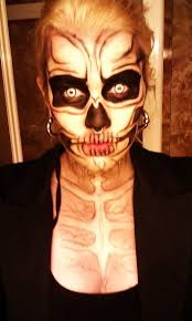 16 best skeleton faces images on pinterest halloween makeup day