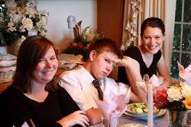 images black family thanksgiving dinner