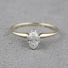 preowned engagement rings pre owned marquise engagement ring