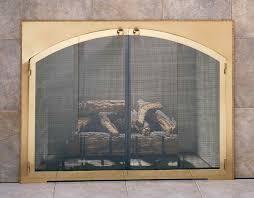 full view glass door fireplace doors design specialties legend rectangle arch custom