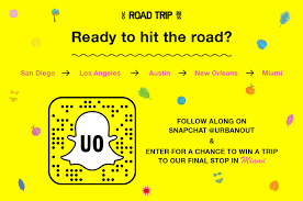 uo road trip on the road with uo snapchat urban outfitters blog