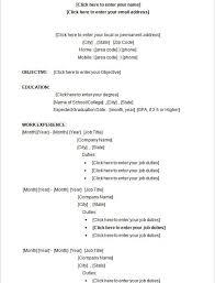 Microsoft Word Template Resume Resume Examples Microsoft Word Wonderful Design Ideas Microsoft