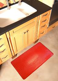 Rubber Floor Mats For Kitchen Kitchen Floor Intelligence Cushioned Kitchen Floor Mats