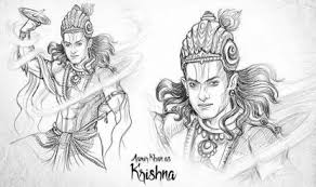 revealed this is how aamir khan will look as lord krishna in ss
