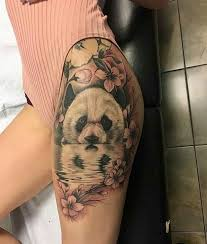 collection of 25 rest of thigh tattoos