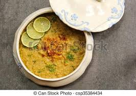 cuisine ramadan haleem traditional ramadan food like khichra haleem stock