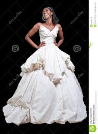 free wedding dresses black woman in wedding dress stock photo image of marriage