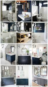 Gray And White Bathroom Ideas by 25 Best Navy Blue Bathrooms Ideas On Pinterest Blue Vanity