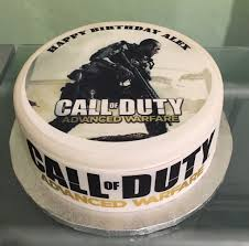 call of duty cake topper call of duty edible icing cake topper 03 the caker online