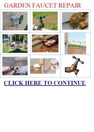 Repair Outside Faucet Garden Faucet Repair Garden Faucet Acura Rsx Repair Manual