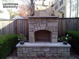 cost of outdoor fireplace home interiror and exteriro design