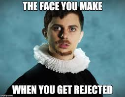 Rejected Meme - shakespeare has a weird face imgflip