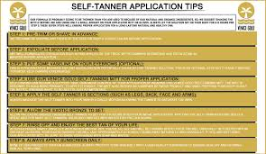 All Natural Sunless Tanning Lotion Self Tanner Application Tips By Venice Gold