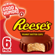 reese peanut butter cup halloween costume breyers reese u0027s peanut butter cups ice cream bars 6 ct walmart com